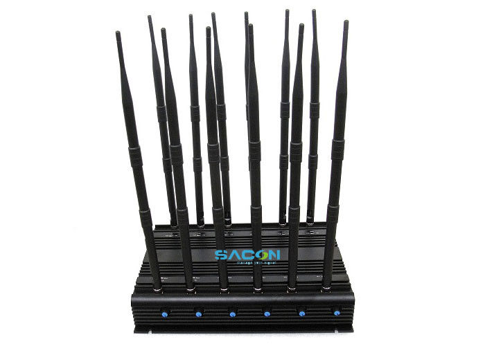 315MHz / 433MHz Mobile Phone Network Jammer 30 Watt With Good Cooling System