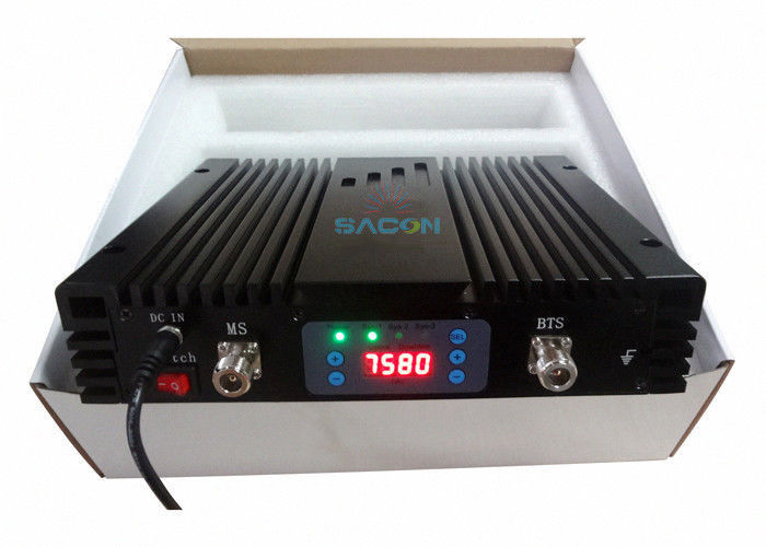 High Power GSM Mobile Signal Repeater Line Amplifier 30dBm With LED Panel