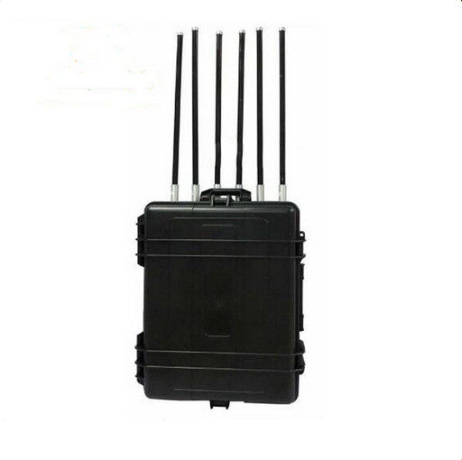Portable Luggage Manpack Jammer , Drone Frequency Blocker With Good Cooling System